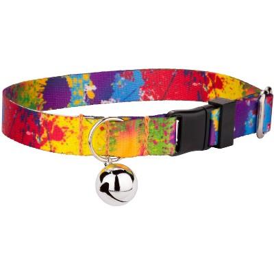 Country Brook Petz® Paint Splatter Cat Collar
