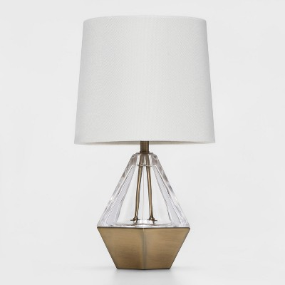 Acrylic Prism Accent Table Lamp (Lamp Only)Clear - Project 62™