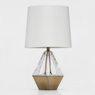 Acrylic Prism Accent Table Lamp (Lamp Only) Clear - Project 62™