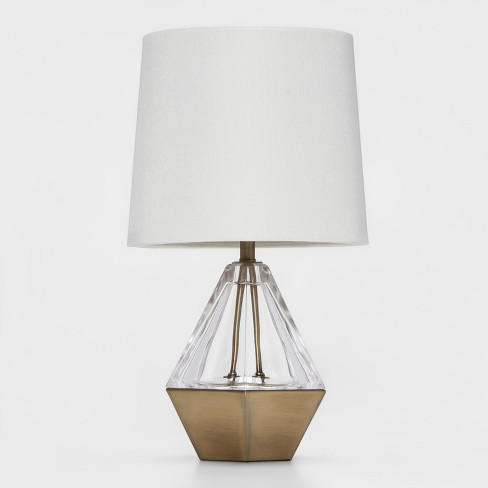 Acrylic Prism Accent Table Lamp Clear Project 62