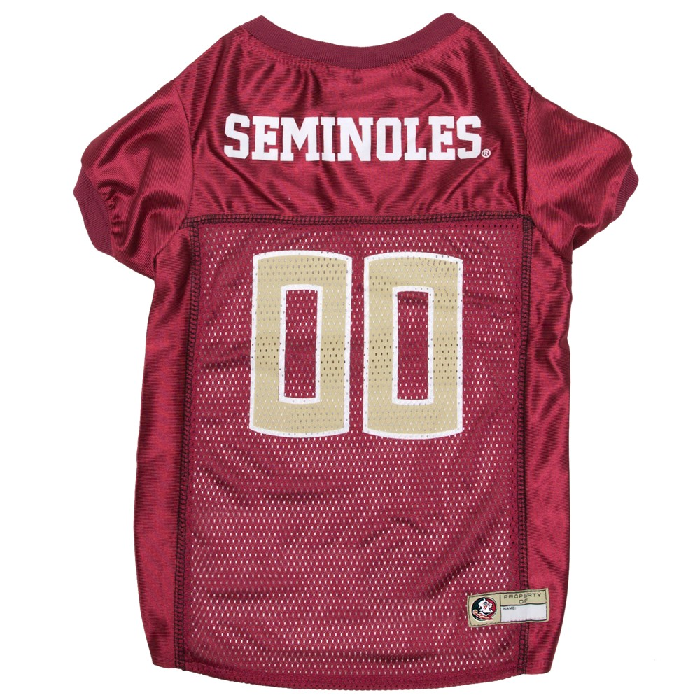 Pets First Florida State Seminoles Mesh Jersey - XS, Multicolored