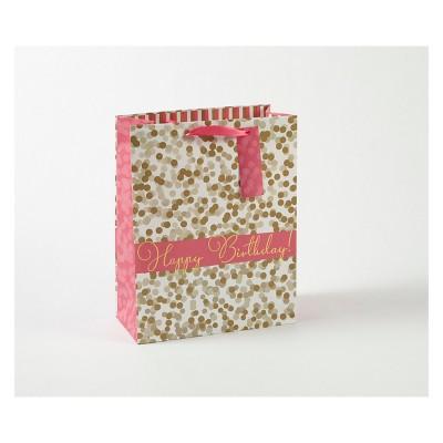 Small Dots Happy Birthday Gift Bag