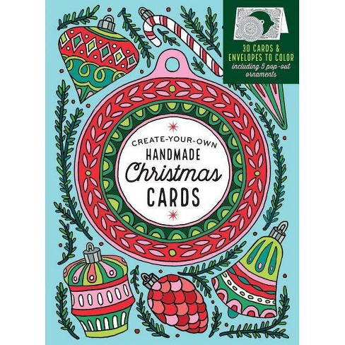 Create-Your-Own Handmade Christmas Cards - by  Caitlin Keegan (Hardcover) - image 1 of 1