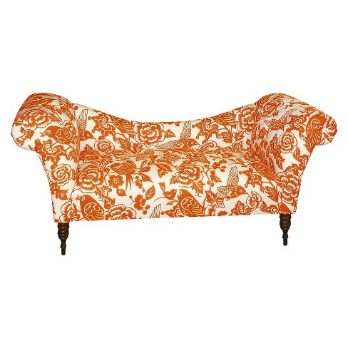 Skyline Custom Upholstered Tufted Rolled Arm Chaise - Skyline Furniture® - image 1 of 1