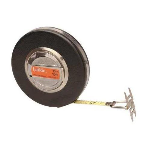 """CRESCENT LUFKIN HW223ME 50 ft. Long Tape Measure, 3/8"""" Blade, Brown - image 1 of 1"""