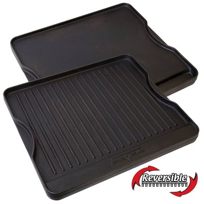 Camp Chef Reversible Cast Iron Grill/Griddle - Black