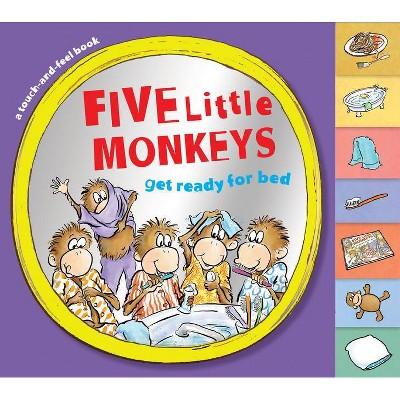 Five Little Monkeys Get Ready for Bed - (Five Little Monkeys Story)by Eileen Christelow (Board Book)