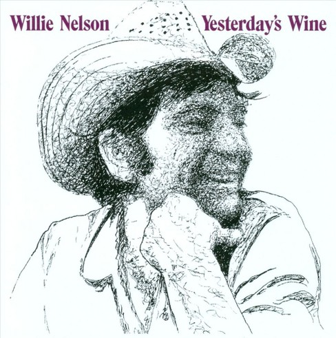 Willie nelson - Yesterday's wine (CD) - image 1 of 1