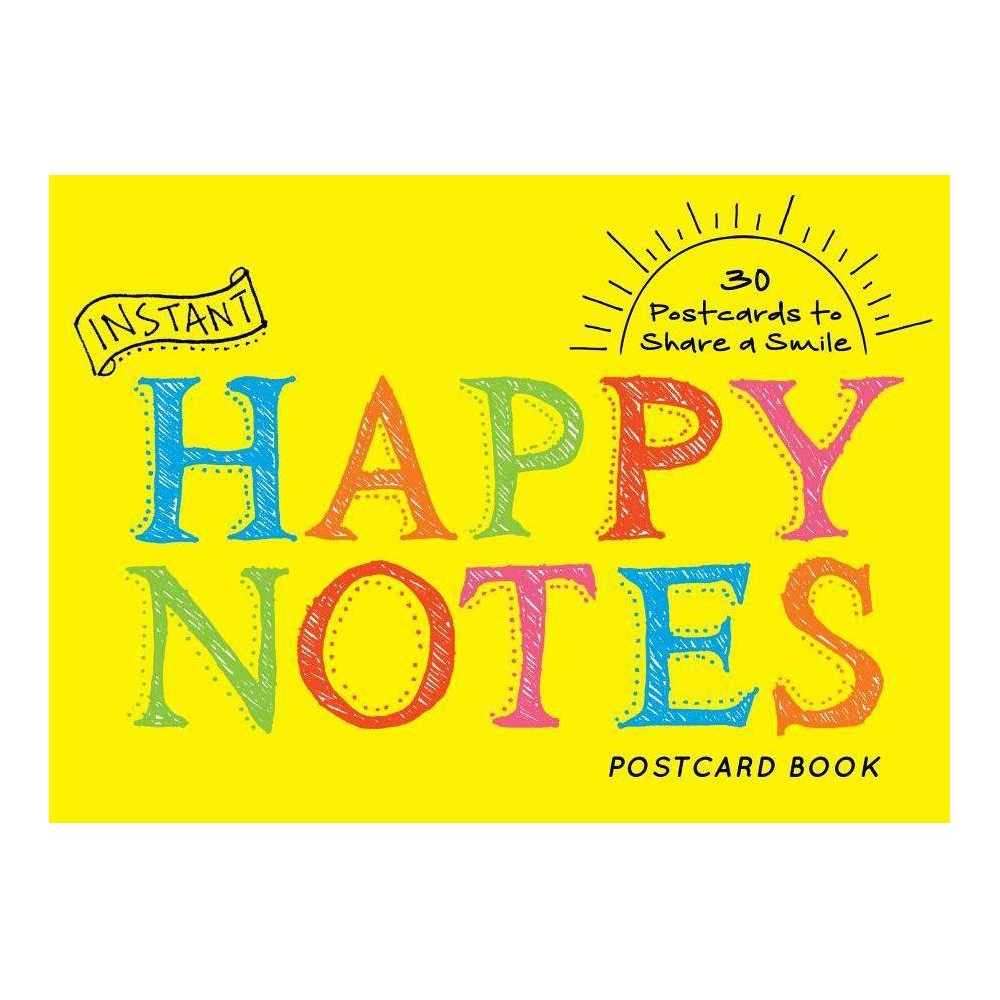 Instant Happy Notes Postcard Book Inspire Instant Happiness Calendars Gifts Hardcover