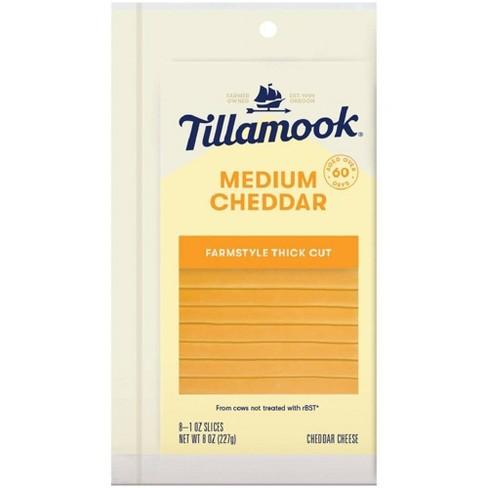 Tillamook Medium Cheddar Cheese Slices - 8oz - image 1 of 1