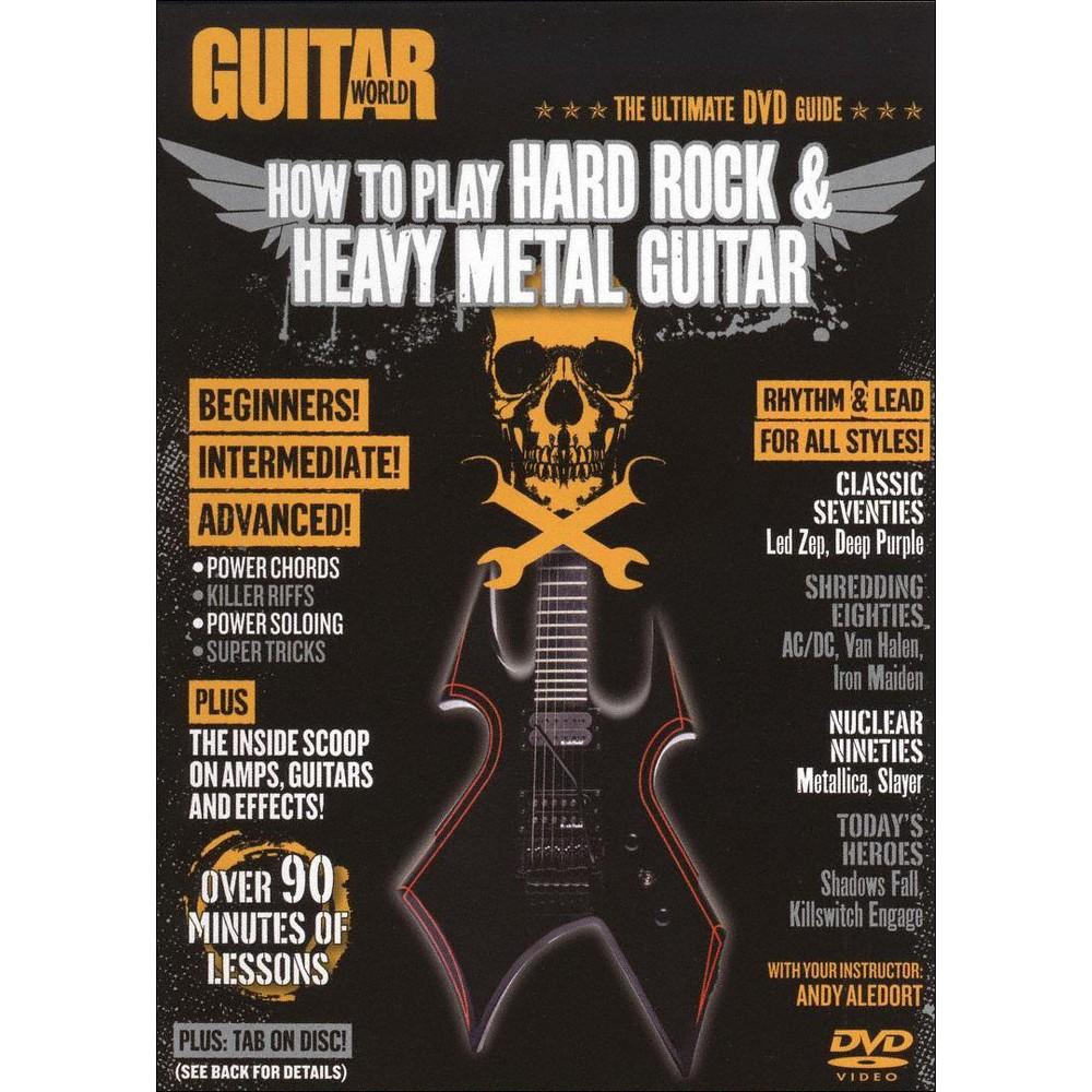 Guitar World:How To Play Hard Rock & (Dvd)