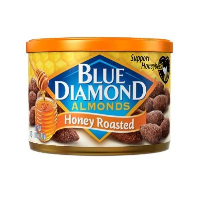 Blue Diamond Almonds Honey Roasted - 6oz