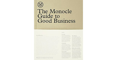 Monocle Guide to Good Business (Hardcover) - image 1 of 1