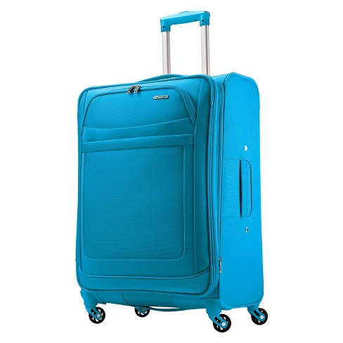 "American Tourister iLite Max Spinner Suitcase - Light Blue (25"") - image 1 of 9"