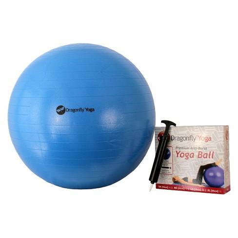 DragonFly Yoga Ball - Blue (75 cm) - image 1 of 1