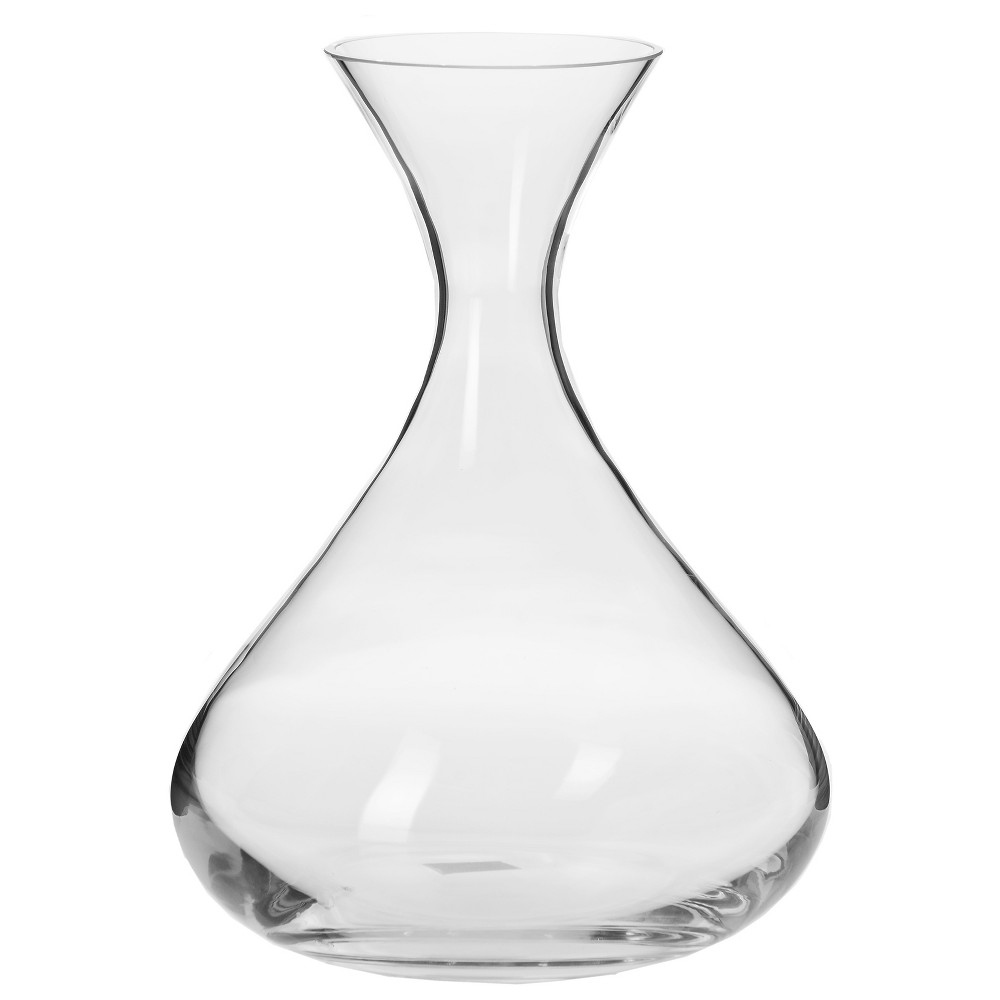 Image of Krosno Handmade Glass Logan Wine Decanter 50oz, Clear
