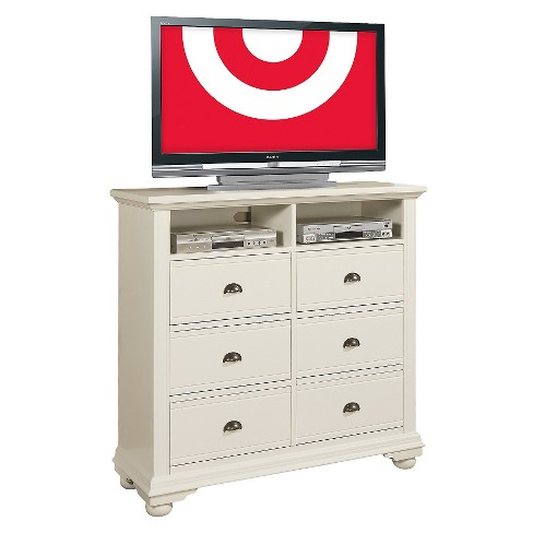 Aiden Cottage 6-Drawer Media Chest White - Picket House Furnishings - image 1 of 2