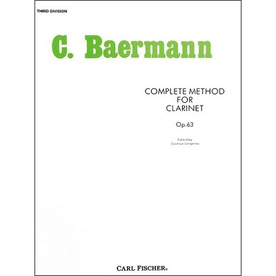 Carl Fischer Complete Method For Clarinet - 3rd Division