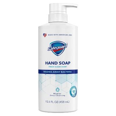 Safeguard Liquid Hand Soap Fresh Clean Scent - 15.5 fl oz