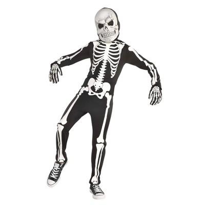 Kids' X-Ray Skeleton Halloween Costume