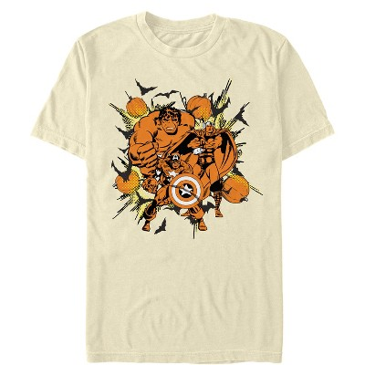 Men's Marvel Halloween Group Attack T-Shirt