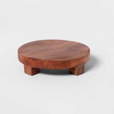 "6"" Mango Wood Trivet - Threshold™"