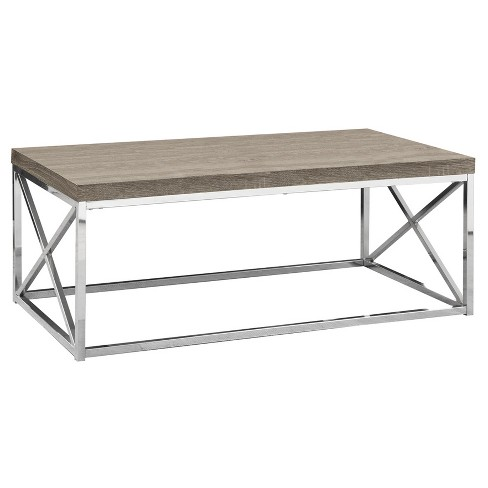 Coffee Table - Chrome Metal - EveryRoom - image 1 of 2