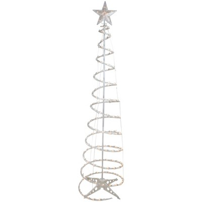 Northlight 6' Pre-Lit Spiral Christmas Tree - Clear Lights