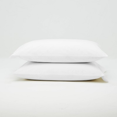 Washed Supima Percale Solid Pillowcase Set - Casaluna™