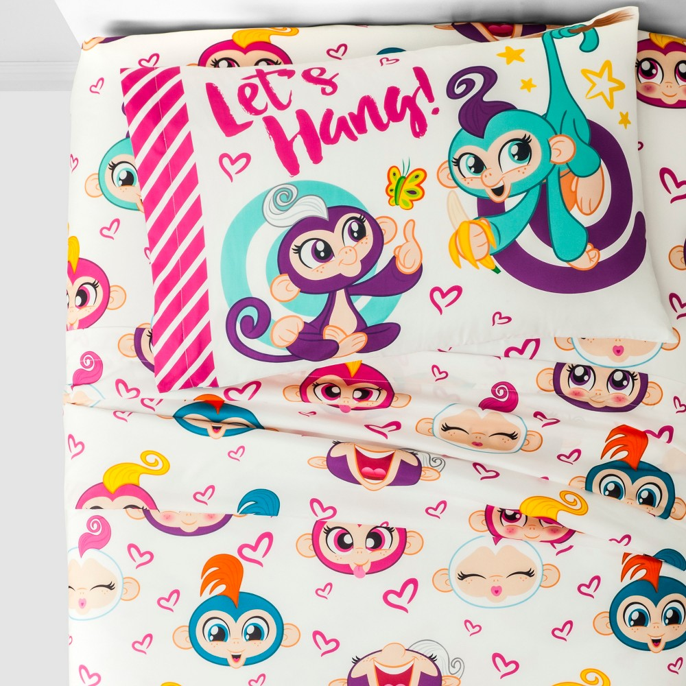 Fingerlings Twin Sheet Set