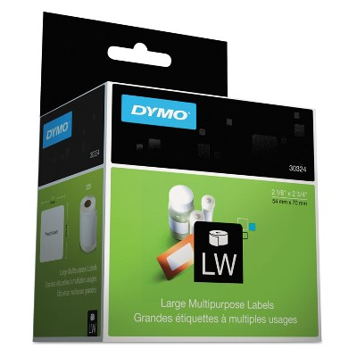 DYMO LabelWriter Diskette Labels 2 3/4 x 2 1/8 White 320 Labels/Roll 30324