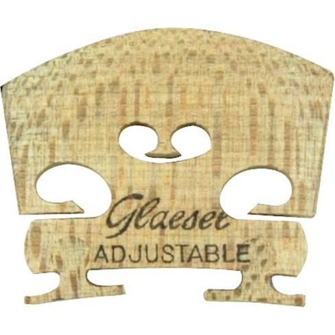 Glaesel Self-Adjusting 1/4 Violin Bridge Medium - image 1 of 1