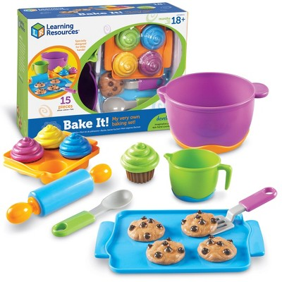 Learning Resources New Sprouts Bake It!, 15 Pieces, Ages 18 mos+