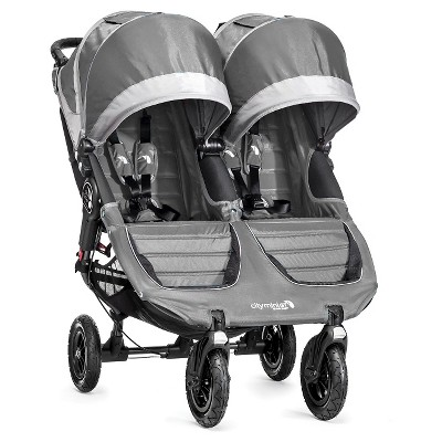 Baby Jogger City Mini GT Double - Steel Gray