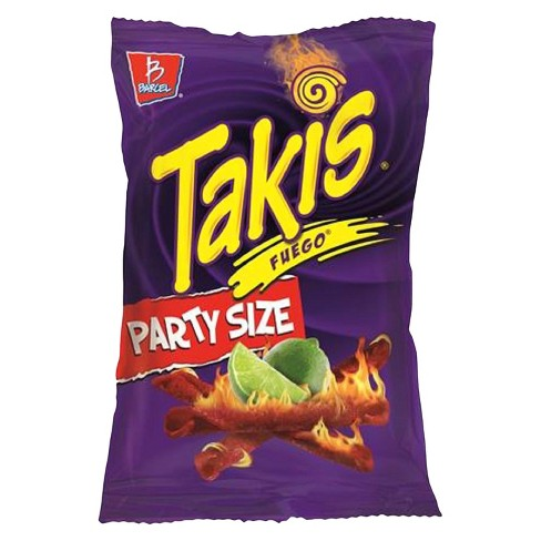 barcel takis fuego party size tortilla chips 24 7oz target