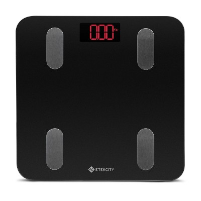 Smart Fit Scale with Resistance Bands Black - Etekcity