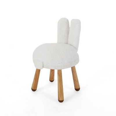 Rose Red's Stoolimals Collection Bunny Stool White - Christopher Knight Home