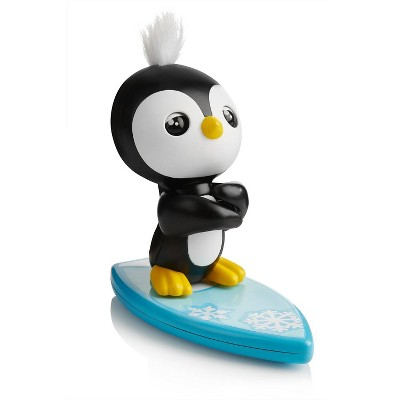 Fingerlings Baby Penguin - Tux (Black and White) - Interactive Toy - By WowWee