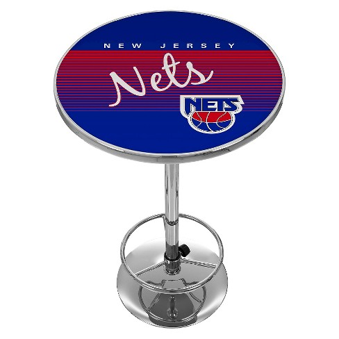NBA® Brooklyn Nets Chrome Pub Table - image 1 of 1