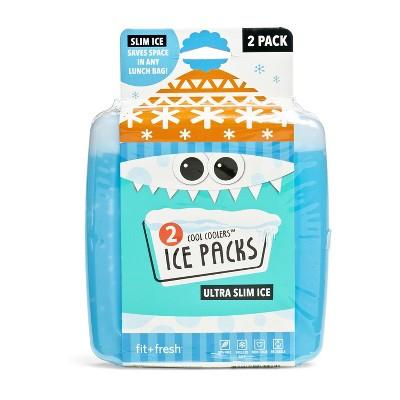 Fit & Fresh 2pk Cool Coolers - Blue
