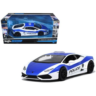 Lamborghini Huracan Police Blue Maisto Diecast Car Collection Model 1//24