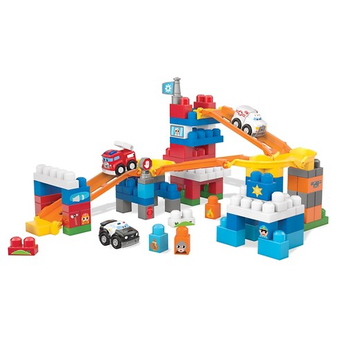 Mega Bloks® First Builders Fast Tracks Deluxe Rescue Center - image 1 of 6