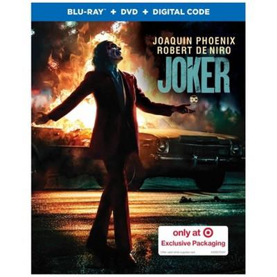 Joker (Target Exclusive)(Blu-Ray + DVD + Digital)