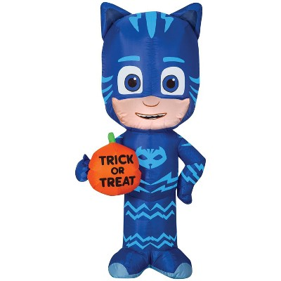 Pj Masks Airblown Catboy Trick or Treat Inflatable Holiday Decorations