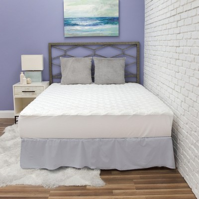 BioPEDIC Fresh and Clean Mattress Pad with Antimicrobial Ultra-Fresh Treated Fabric