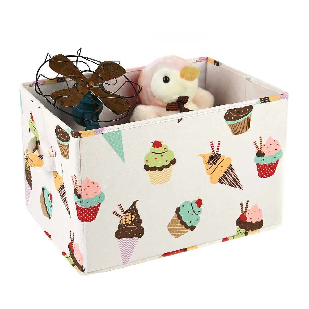 Cream Cupcake Ice Cream Toy Storage Container Set (14