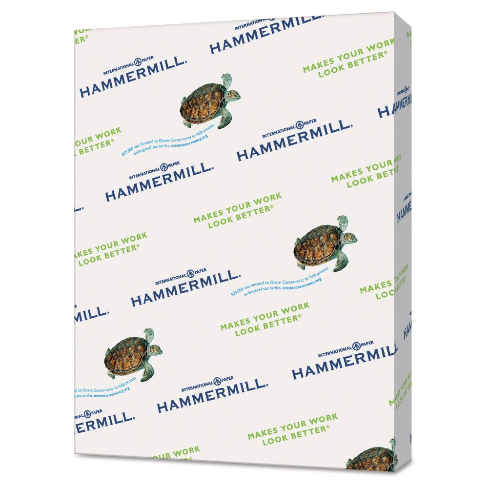 Hammermill Recycled Paper, 8.5 x 11, 500 ct - Ivory