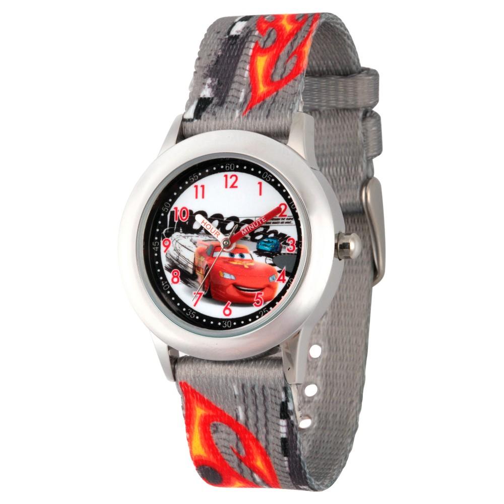 Boys' Disney Cars Lightning McQueen Watches Gray