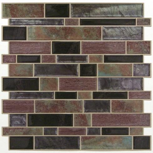 RoomMates Modern Long Stone Tile Peel And Stick Backsplash - image 1 of 2