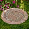 Whitehall 00189 Metal 8 Pound Outdoor Garden Hanging Bird Bath, Copper Verdi - image 4 of 4